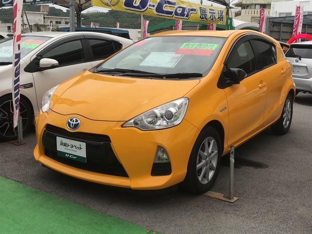 沖縄県の中古車ならアクア G ナビ TV バックカメラ スマートキー ETC 記録簿