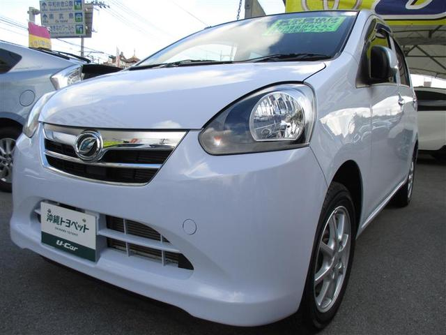 沖縄の中古車 ダイハツ ミライース 車両価格 66万円 リ済別 2013(平成25)年 0.8万km ブルー