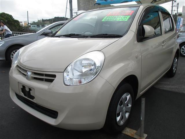 沖縄県の中古車ならパッソ X クツロギ