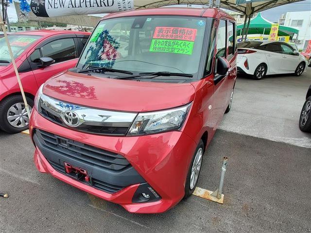 沖縄の中古車 トヨタ タンク 車両価格 118.8万円 リ済別 2016(平成28)年 4.6万km レッド