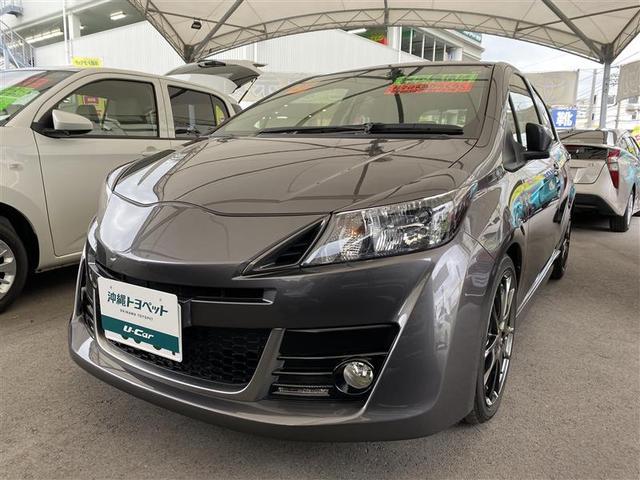 沖縄の中古車 トヨタ ヴィッツ 車両価格 118.8万円 リ済別 2015(平成27)年 4.8万km グレー