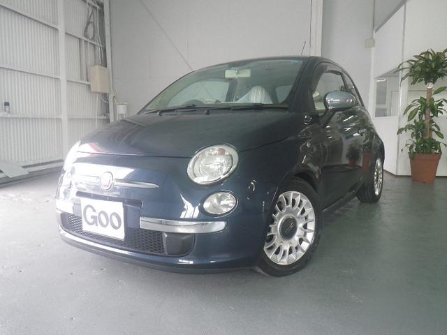 沖縄の中古車 フィアット フィアット 500 車両価格 90万円 リ済込 2009年 8.9万km グレー