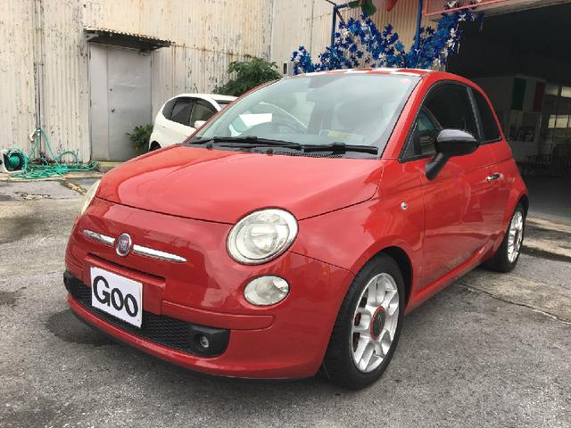 沖縄の中古車 フィアット フィアット 500 車両価格 90万円 リ済込 2008年 9.3万km レッド