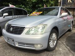 沖縄市 Car inspection's K's トヨタ クラウン ロイヤルサルーン プレミアムシルバーパール 18.1万K 平成17年