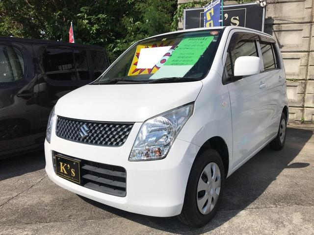 沖縄の中古車 スズキ ワゴンR 車両価格 19万円 リ済込 2011(平成23)年 14.9万km スペリアホワイト