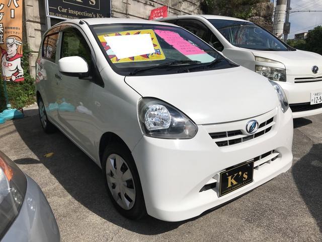 沖縄の中古車 ダイハツ ミライース 車両価格 25万円 リ済込 2012(平成24)年 12.0万km ホワイト