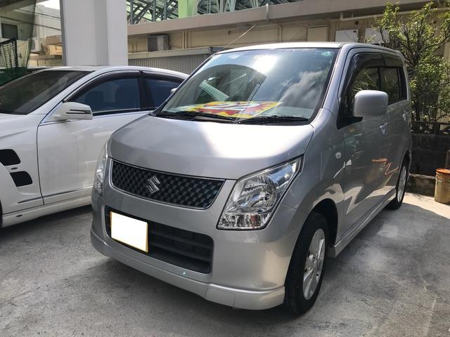 沖縄の中古車 スズキ ワゴンR 車両価格 22万円 リ済込 2008(平成20)年 10.0万km シルバーM