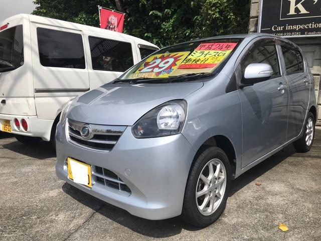 沖縄県沖縄市の中古車ならミライース G アイドリングストップ 横滑り防止 純正オーディオ Wエアバッグ