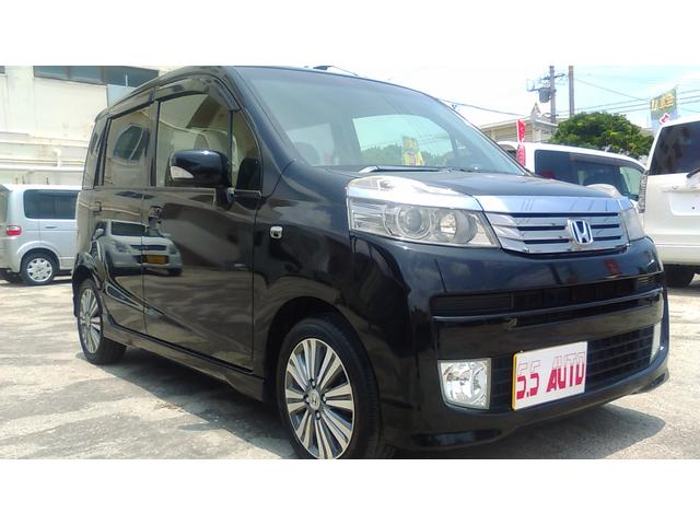沖縄の中古車 ホンダ ライフ 車両価格 47万円 リ済込 2012(平成24)年 7.9万km ブラック