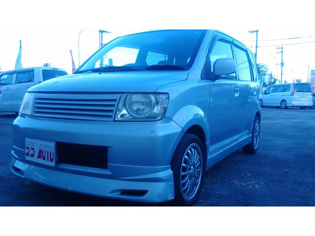 沖縄の中古車 三菱 eKワゴン 車両価格 10万円 リ済込 2003(平成15)年 6.3万km シルバーM