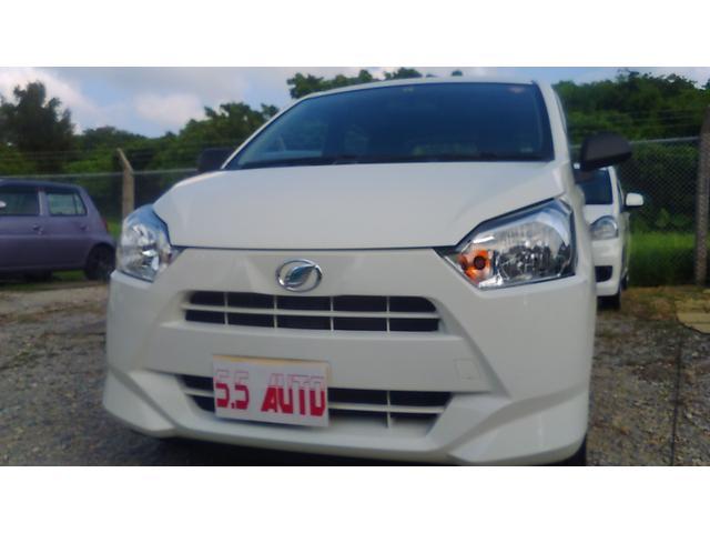 沖縄の中古車 ダイハツ ミライース 車両価格 83万円 リ済込 新車  ホワイト