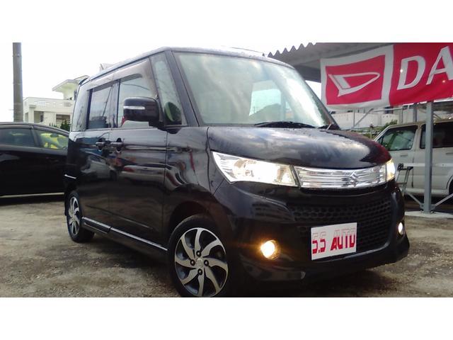 沖縄の中古車 スズキ パレットSW 車両価格 81万円 リ済込 2012(平成24)年 6.1万km ブラックM