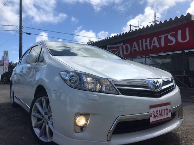 沖縄の中古車 トヨタ SAI 車両価格 119万円 リ済込 2012(平成24)年 5.3万km パールホワイト