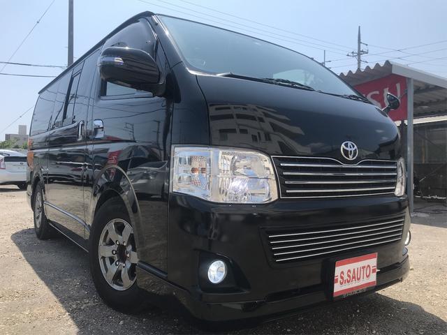 沖縄の中古車 トヨタ ハイエースバン 車両価格 222万円 リ済込 2014(平成26)年 10.6万km ブラックM
