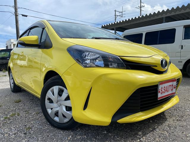 沖縄県中頭郡中城村の中古車ならヴィッツ F タイヤ4本新品・ワンオーナー車・ETC付き