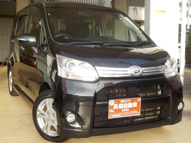 沖縄の中古車 ダイハツ ムーヴ 車両価格 49万円 リ済込 2011(平成23)年 8.8万km ブラックM