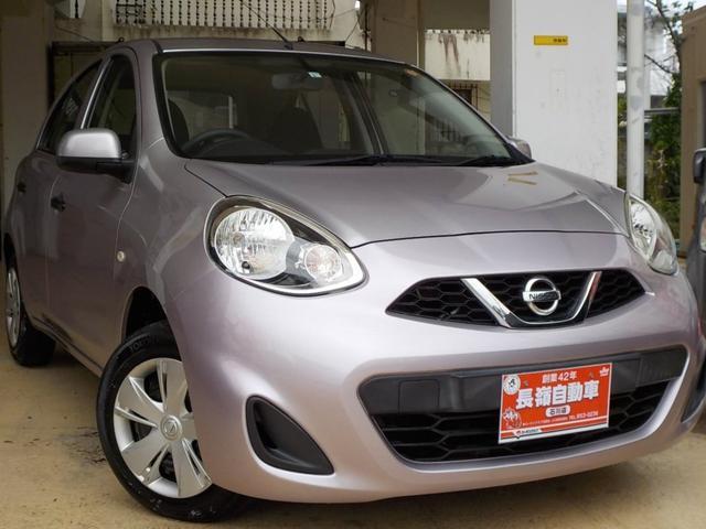 沖縄の中古車 日産 マーチ 車両価格 34万円 リ済込 2014(平成26)年 7.6万km ライトパープルM