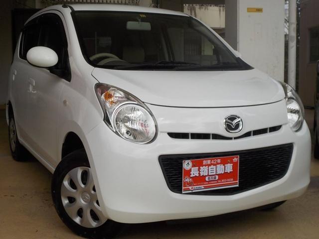 沖縄の中古車 マツダ キャロル 車両価格 29万円 リ済込 2011(平成23)年 8.4万km ホワイト