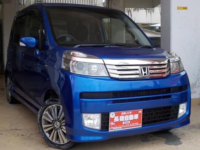 沖縄の中古車 ホンダ ライフ 車両価格 46万円 リ済込 2011(平成23)年 9.4万km ブルーM