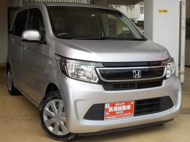 沖縄の中古車 ホンダ N-WGN 車両価格 62万円 リ済込 2014(平成26)年 10.1万km シルバー