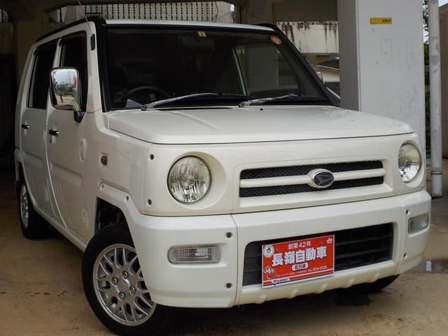 沖縄の中古車 ダイハツ ネイキッド 車両価格 19万円 リ済込 2002(平成14)年 14.9万km ホワイト