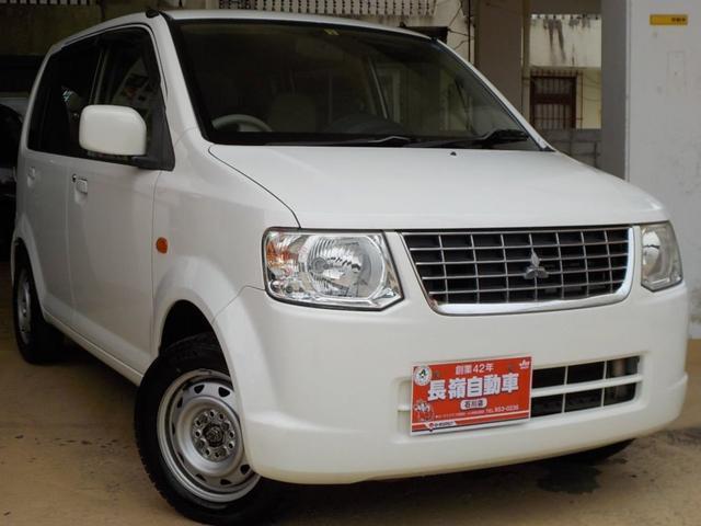 沖縄の中古車 三菱 eKワゴン 車両価格 24万円 リ済込 2012(平成24)年 10.5万km ホワイト