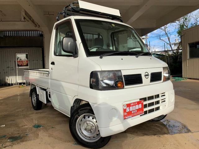 沖縄の中古車 日産 クリッパートラック 車両価格 39万円 リ済込 2007(平成19)年 11.8万km ホワイト