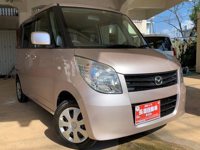 沖縄の中古車 マツダ フレアワゴン 車両価格 39万円 リ済込 2012(平成24)年 9.9万km ピンクM