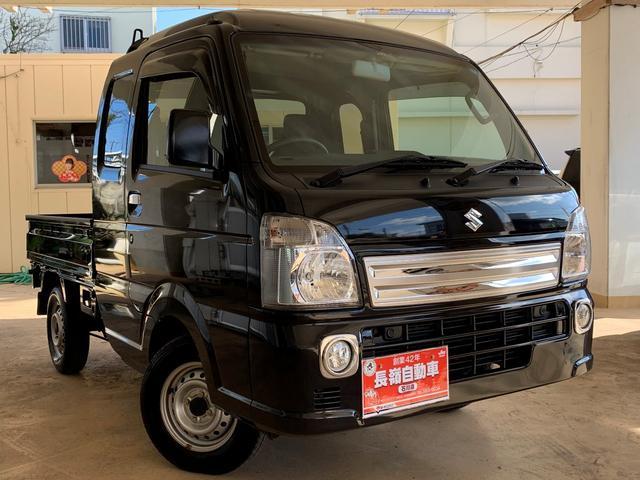 沖縄県うるま市の中古車ならスーパーキャリイ X  誤発進抑制装置・フルセグTV・キーレス・ETC