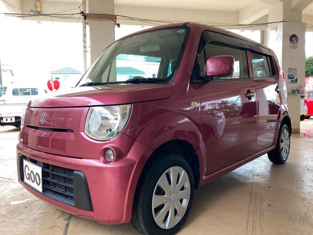 沖縄の中古車 スズキ MRワゴン 車両価格 48万円 リ済込 2013(平成25)年 9.2万km ピンク