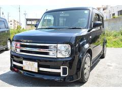 沖縄の中古車 日産 キューブ 車両価格 32万円 リ済込 平成19年 9.9万K ブラックM