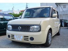 沖縄の中古車 日産 キューブ 車両価格 38万円 リ済込 平成20年 4.8万K ベージュ