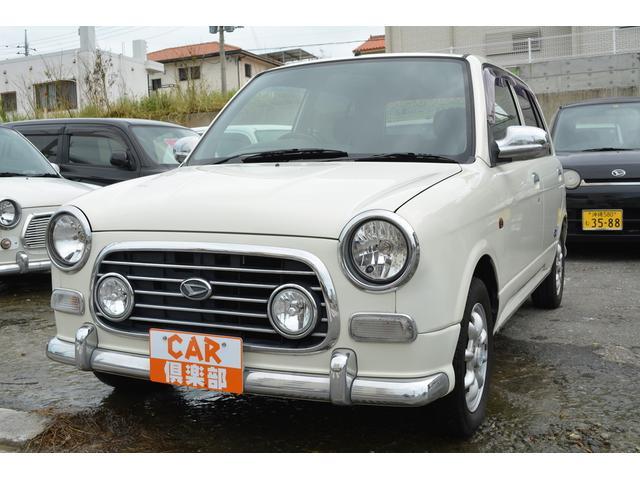 沖縄の中古車 ダイハツ ミラジーノ 車両価格 37万円 リ済込 平成15年 8.4万km パールホワイト