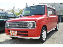 沖縄の中古車 スズキ アルトラパン 車両価格 34万円 リ済込 平成20年 9.3万K レッド・ホワイト2トン