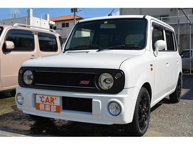 沖縄県の中古車ならアルトラパン SSターボAT車・本土中古車・タイヤ・ホイール新品交換