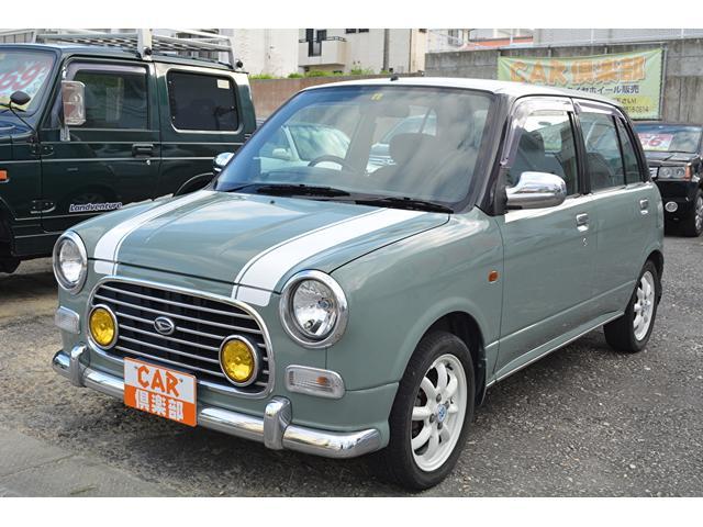 沖縄県中頭郡中城村の中古車ならミラジーノ ミニライト・オリーブグレー色替え・本土中古車