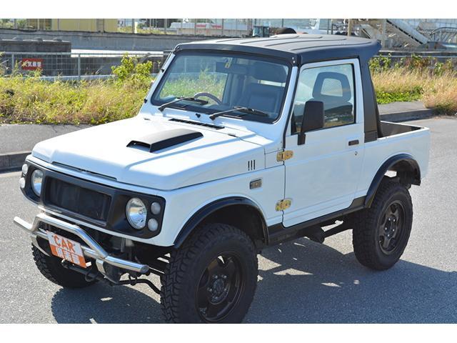 沖縄県の中古車ならジムニー CC・リフトアップ車・タイヤ新品交換・AC付本土中古車