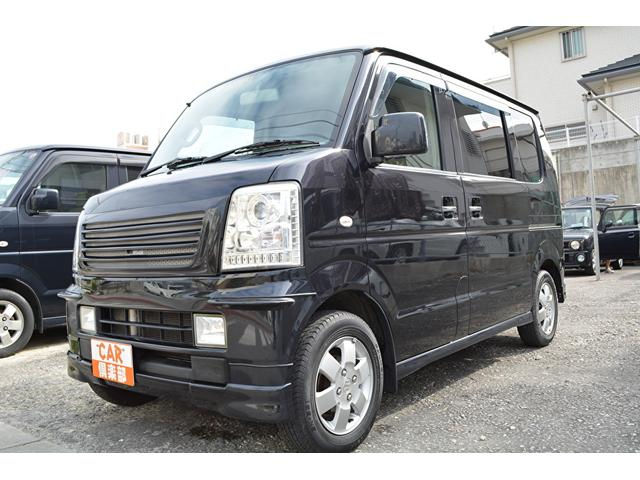 沖縄県中頭郡中城村の中古車ならエブリイワゴン PZターボ・左パワースライド・本土中古車