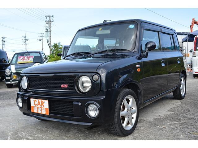 沖縄の中古車 スズキ アルトラパン 車両価格 28万円 リ済込 2007(平成19)年 15.0万km ブラック