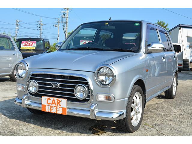 沖縄の中古車 ダイハツ ミラジーノ 車両価格 36万円 リ済込 2004(平成16)年 9.2万km シルバーM