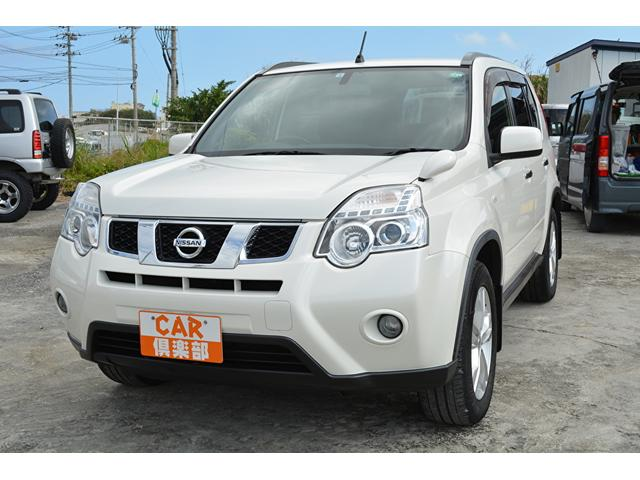 沖縄の中古車 日産 エクストレイル 車両価格 65万円 リ済込 2012(平成24)年 15.0万km パールホワイト
