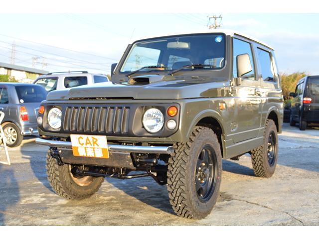 沖縄の中古車 スズキ ジムニー 車両価格 72万円 リ済込 1998(平成10)年 13.5万km ユーコングレー