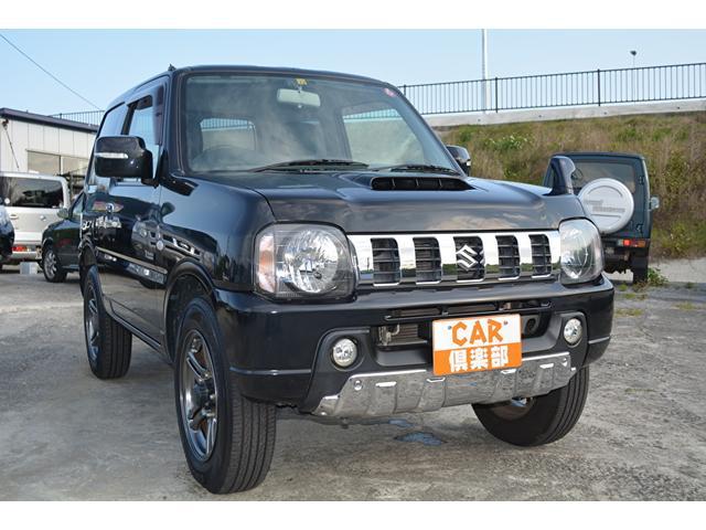 沖縄の中古車 スズキ ジムニー 車両価格 92万円 リ済込 2012(平成24)年 14.2万km ブラック