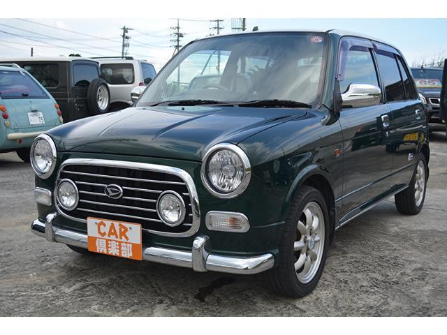 沖縄の中古車 ダイハツ ミラジーノ 車両価格 48万円 リ済込 2004(平成16)年 7.8万km グリーン/ホワイト2トン