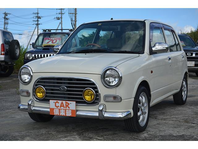 沖縄の中古車 ダイハツ ミラジーノ 車両価格 46万円 リ済込 2001(平成13)年 10.0万km パールホワイト