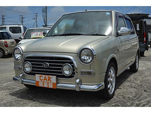 沖縄の中古車 ダイハツ ミラジーノ 車両価格 45万円 リ済込 2003(平成15)年 8.9万km ゴールドパール