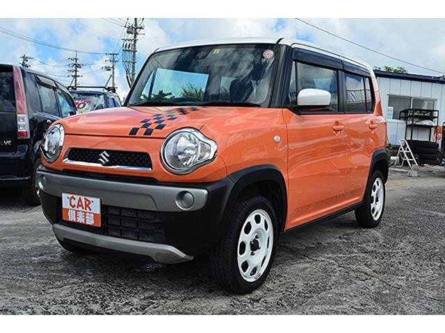 沖縄県の中古車ならハスラー Gターボ メモリーナビ・TV・ETC・レーダーブレーキサポート・プッシュスタート・アイドリングストップ・スマートキー