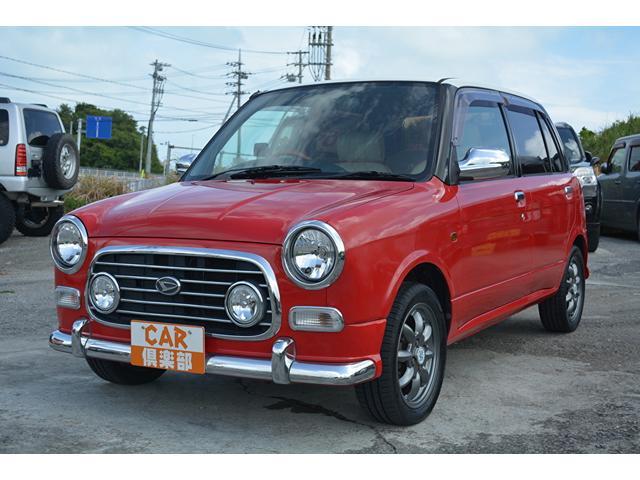 沖縄の中古車 ダイハツ ミラジーノ 車両価格 49万円 リ済込 2002(平成14)年 9.4万km レッド2トン