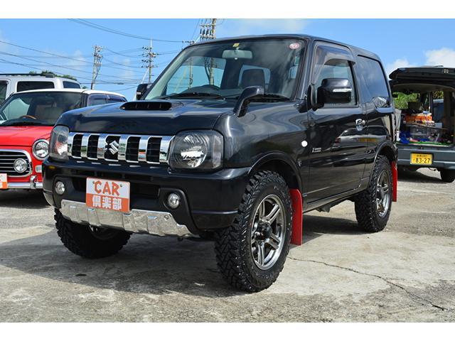 沖縄の中古車 スズキ ジムニー 車両価格 99万円 リ済込 2012(平成24)年 12.2万km ブラック