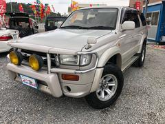 沖縄の中古車 トヨタ ハイラックスサーフ 車両価格 82万円 リ済込 平成9年 22.1万K グレイッシュパープルメタリックトーニングG